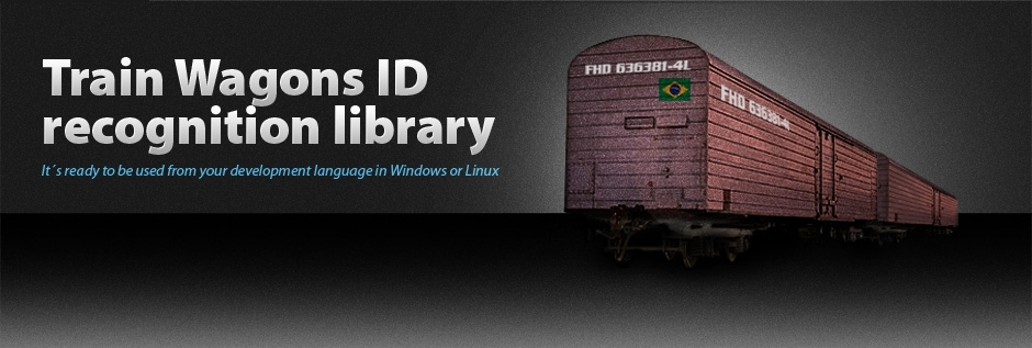 Train Wagons ID recognition library