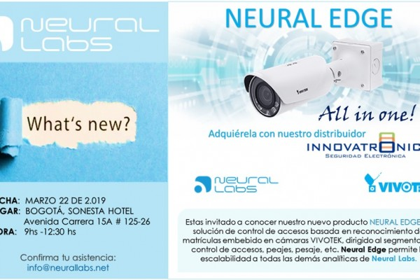 Launch Event Neural Edge, all in one solution!