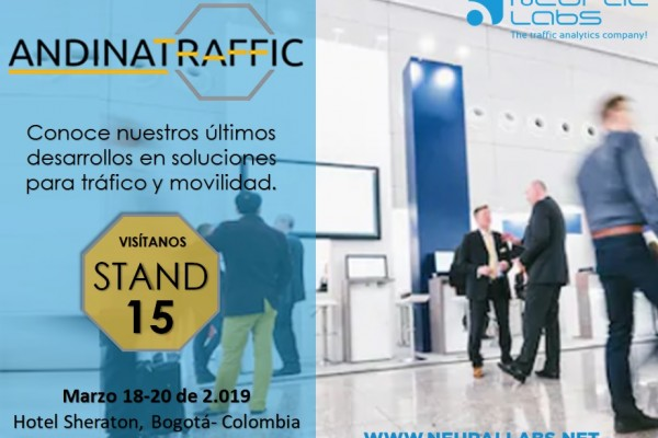 Andinatraffic Fair Bogota city 2.019