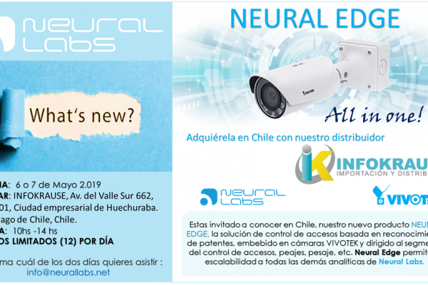 Lanzamiento Neural Edge Chile